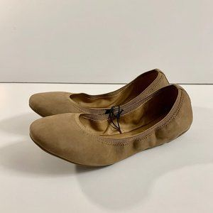 New! Lucky Brand Eliana Leather Ballet Flats 7.5
